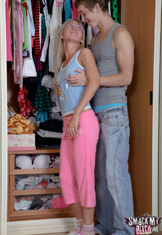 Teen laid by her man