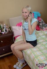 Kayla makes a booty call