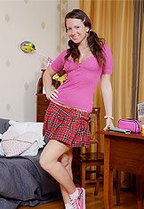 Schoolgirl loves big cock