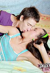 Zufia entertains her boyfriend