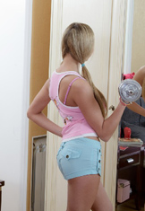 Fit sexy teen fucked